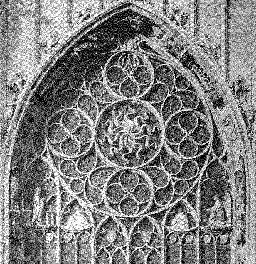 Milano, Duomo – Finestrone absidale – Raza viscontea