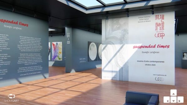 mostra virtuale 3D