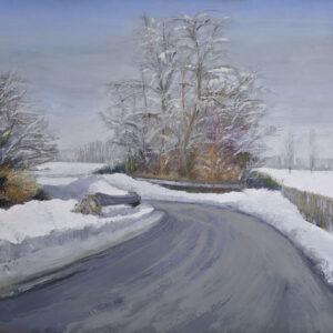 10. Carbonato - Strada nella grande nevicata copia