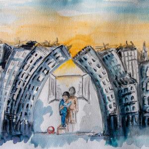 44. - Vaccaro - Tramonto di speranza
